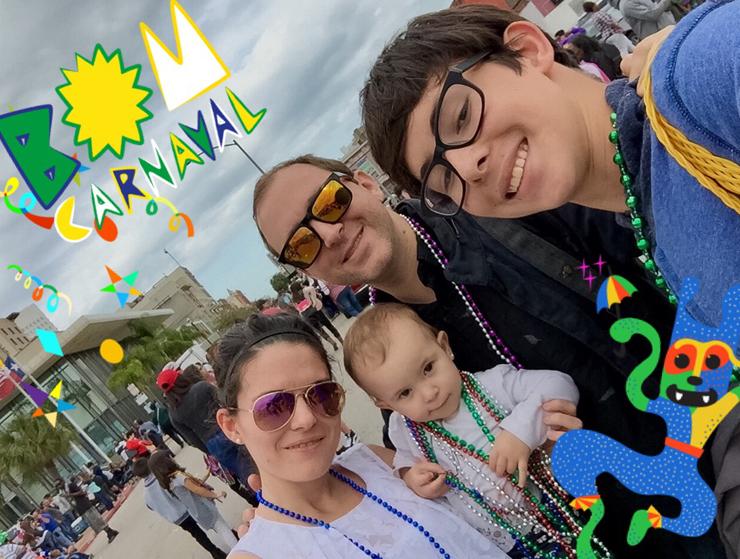 Galveston Mardi Gras with kids