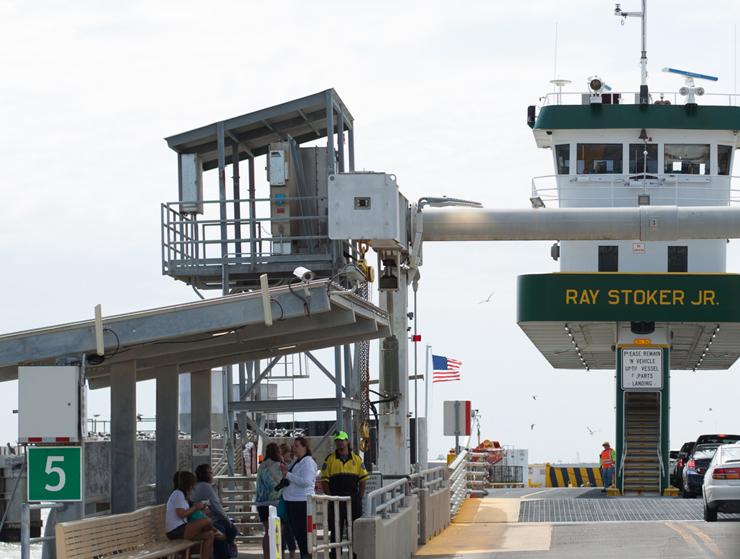 Ferry ride Galveston